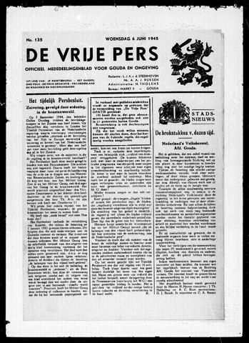 De Vrije Pers 1945-06-06