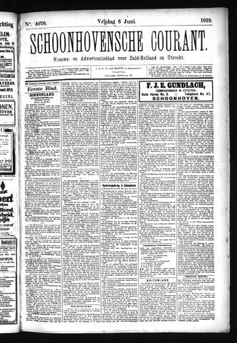 Schoonhovensche Courant 1919-06-06