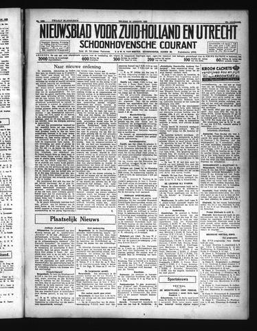 Schoonhovensche Courant 1935-01-18