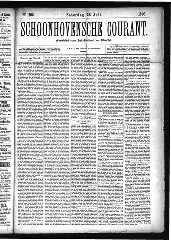 Schoonhovensche Courant 1890-07-26