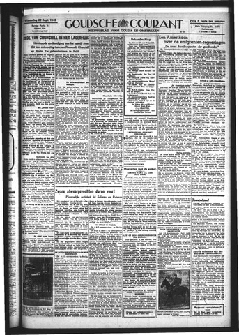 Goudsche Courant 1943-09-22