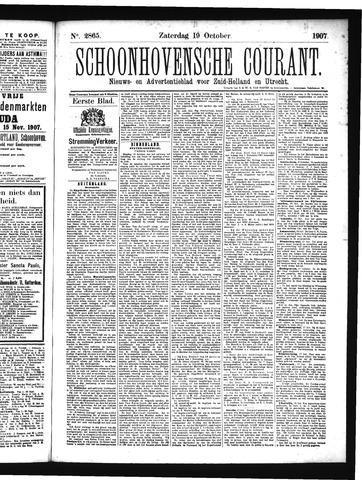 Schoonhovensche Courant 1907-10-19