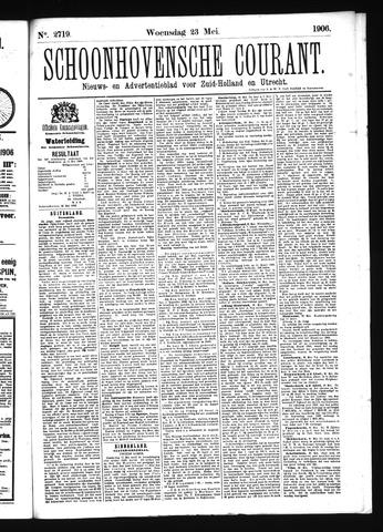 Schoonhovensche Courant 1906-05-23