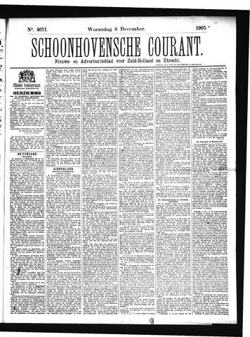Schoonhovensche Courant 1905-12-06