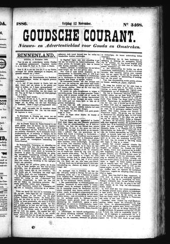 Goudsche Courant 1886-11-12