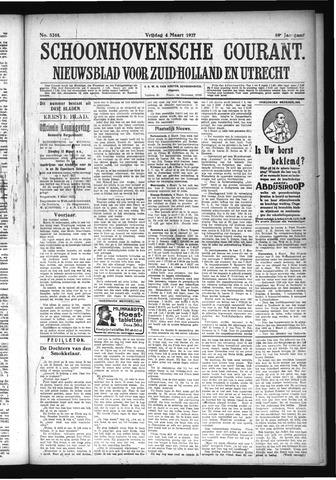 Schoonhovensche Courant 1927-03-04