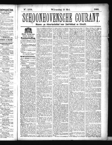 Schoonhovensche Courant 1895-05-15