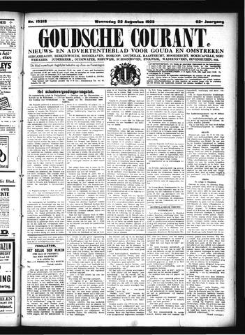 Goudsche Courant 1923-08-22