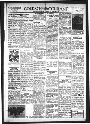Goudsche Courant 1944-01-12