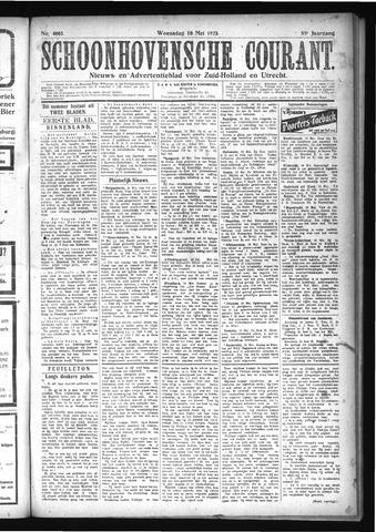Schoonhovensche Courant 1923-05-16
