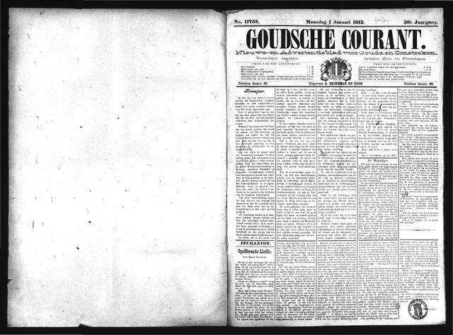 Goudsche Courant 1912