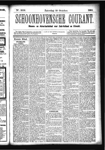 Schoonhovensche Courant 1904-10-29
