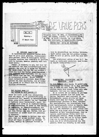 De Vrije Pers 1945-03-27