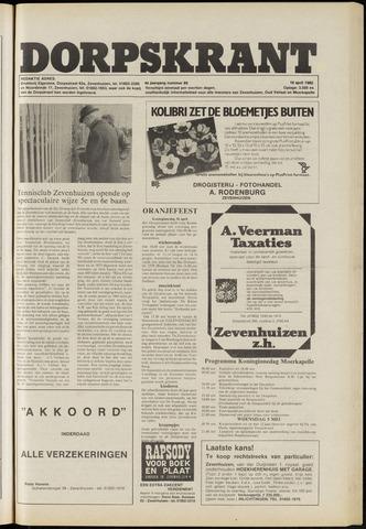 Dorpskrant 1982-04-16