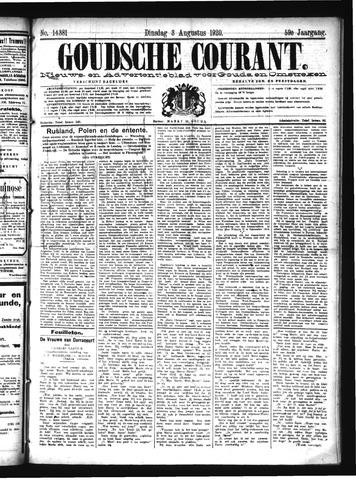 Goudsche Courant 1920-08-03