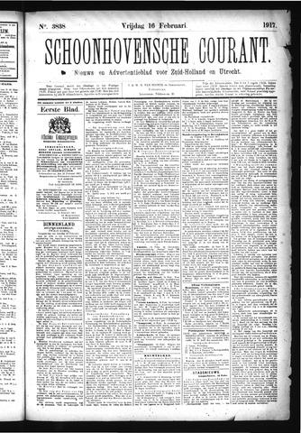 Schoonhovensche Courant 1917-02-16