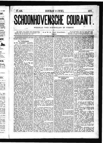 Schoonhovensche Courant 1877-06-03