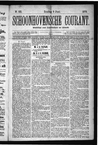 Schoonhovensche Courant 1879-06-08