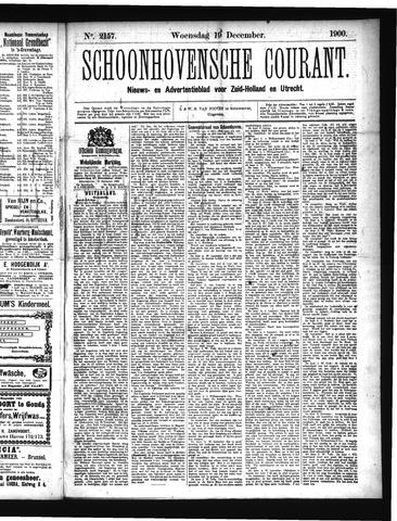 Schoonhovensche Courant 1900-12-19