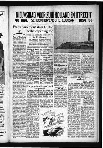 Schoonhovensche Courant 1954-12-31