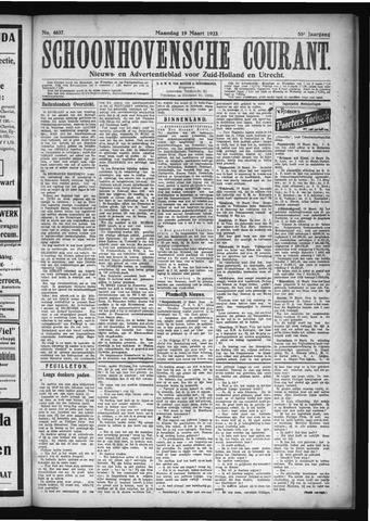 Schoonhovensche Courant 1923-03-19