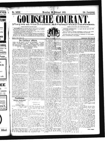 Goudsche Courant 1920-02-23