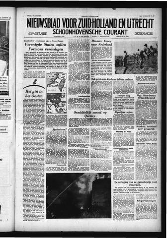 Schoonhovensche Courant 1958-08-29
