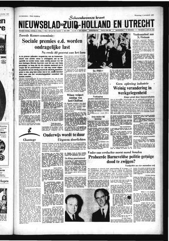 Schoonhovensche Courant 1967-11-01