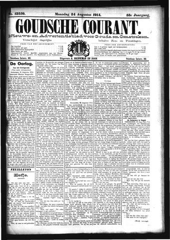 Goudsche Courant 1914-08-24