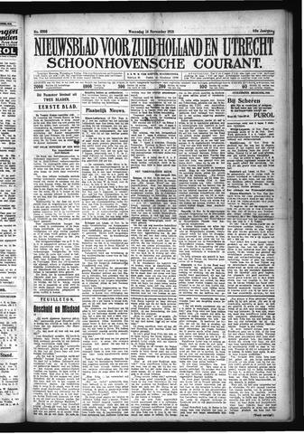 Schoonhovensche Courant 1928-11-14