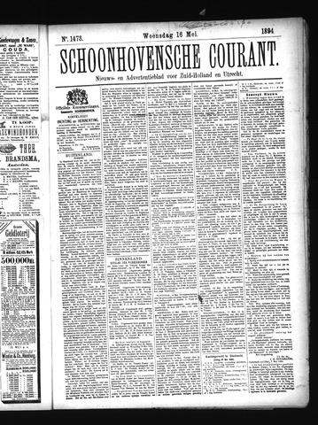 Schoonhovensche Courant 1894-05-16