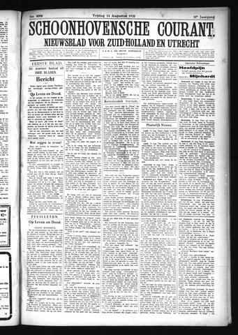 Schoonhovensche Courant 1925-08-14
