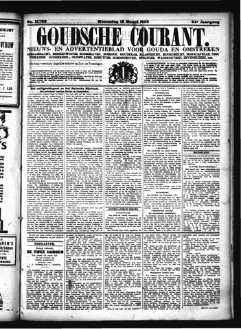 Goudsche Courant 1925-03-18
