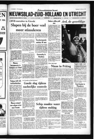Schoonhovensche Courant 1972-02-21