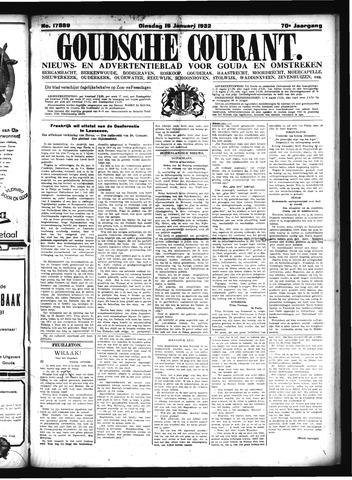 Goudsche Courant 1932-01-19
