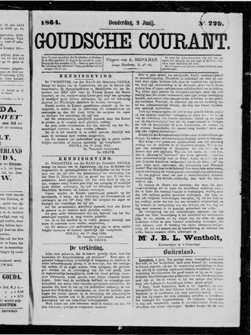 Goudsche Courant 1864-06-09