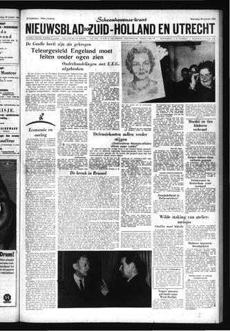 Schoonhovensche Courant 1963-01-30