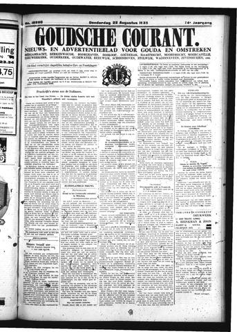 Goudsche Courant 1935-08-22