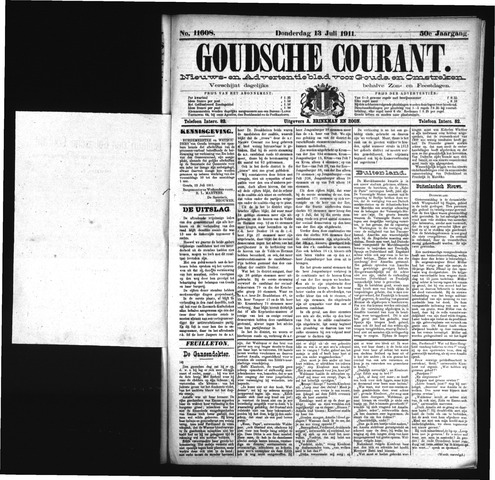Goudsche Courant 1911-07-13