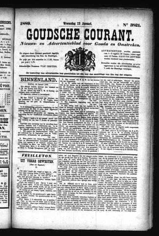 Goudsche Courant 1889-01-23