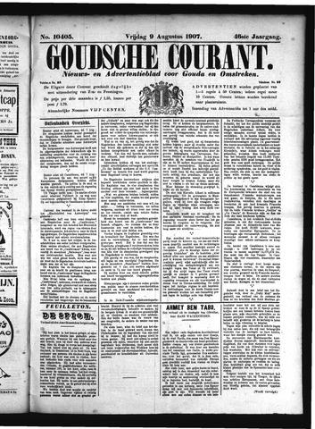 Goudsche Courant 1907-08-09