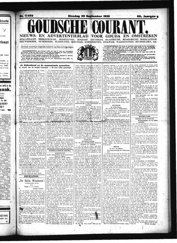 Goudsche Courant 1930-09-30