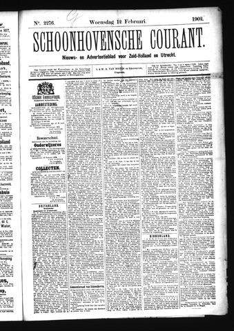 Schoonhovensche Courant 1902-02-12
