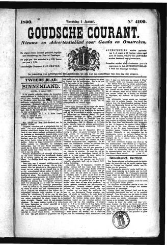 Goudsche Courant 1890