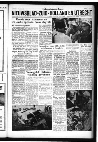 Schoonhovensche Courant 1962-07-09
