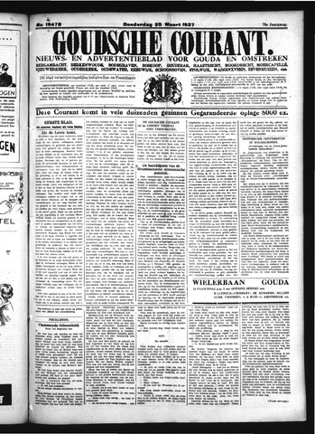 Goudsche Courant 1937-03-25
