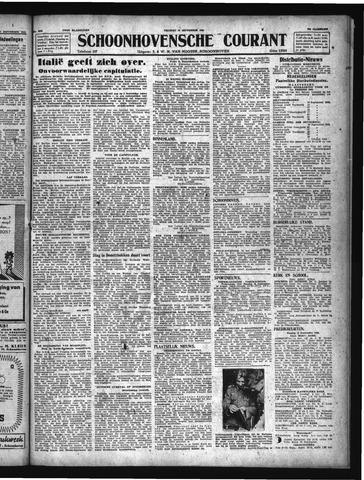 Schoonhovensche Courant 1943-09-10