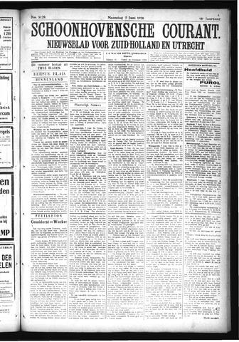 Schoonhovensche Courant 1926-06-07