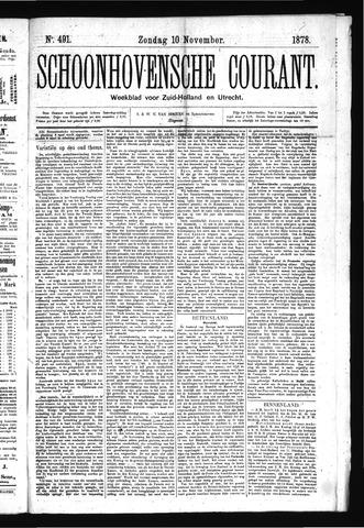 Schoonhovensche Courant 1878-11-10