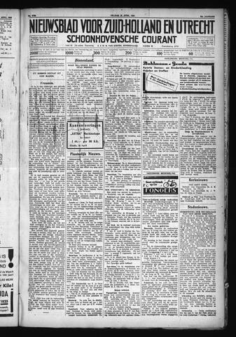 Schoonhovensche Courant 1930-04-25